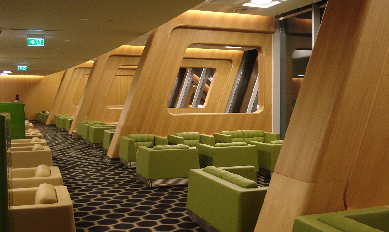 Canberra Airport Chairmans Lounge Bay